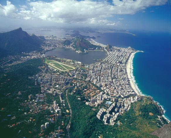 City of Rio - aerial view copy
