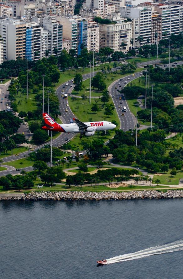 TAM Domestic Flight Santos Dumont Rio