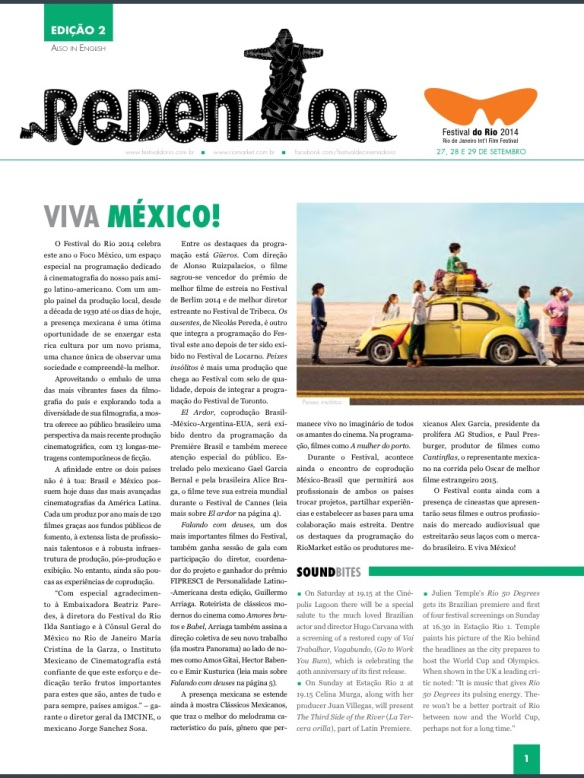 Redentor Cover 2