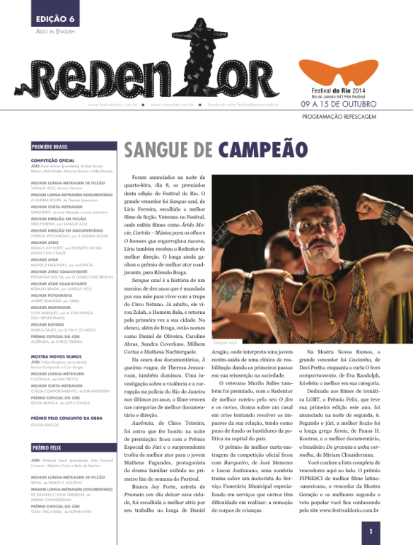 Redentor Cover 6