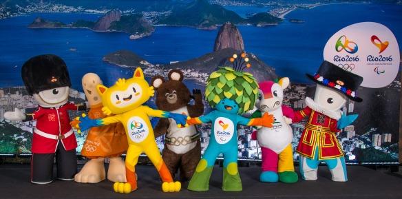 22.11.2014.Mascotes. Sede Rio2016