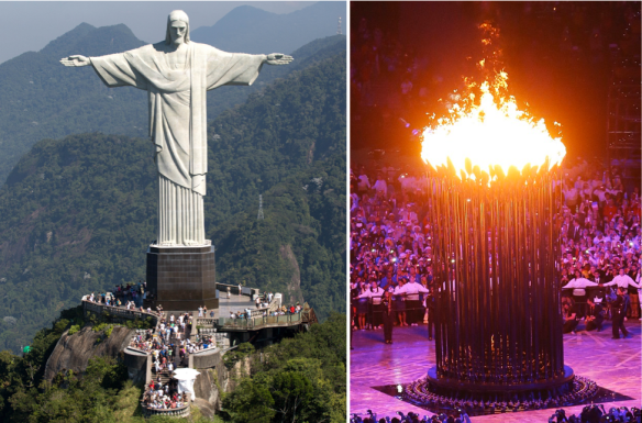 Rio Olympic Cauldron