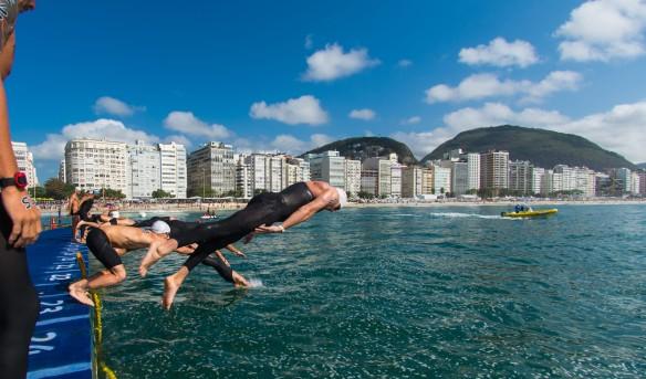 22.08.2015.Maratona Aquática. Copacabana