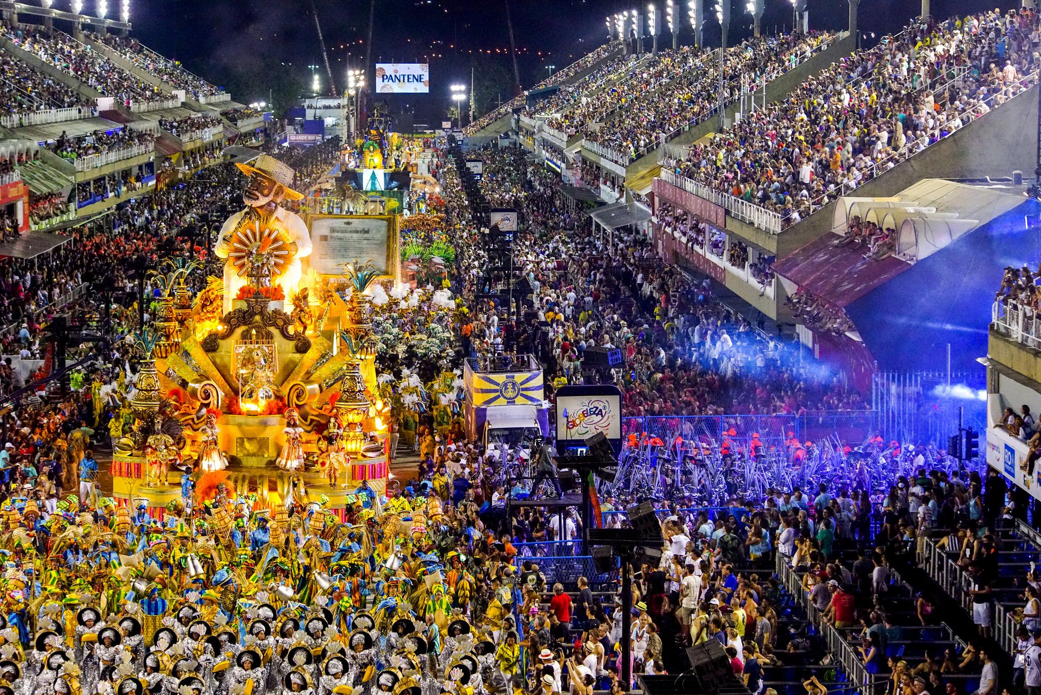 rio carnival parade  u2013 day 1  u2013 11 february 2018